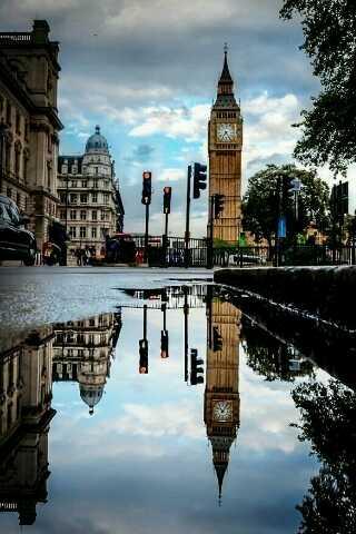 Vista del Big Ben Londres citybranding
